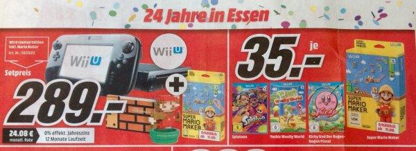 [Mediamarkt Essen] Wii U Limited Edition + Super Mario Maker für 289€