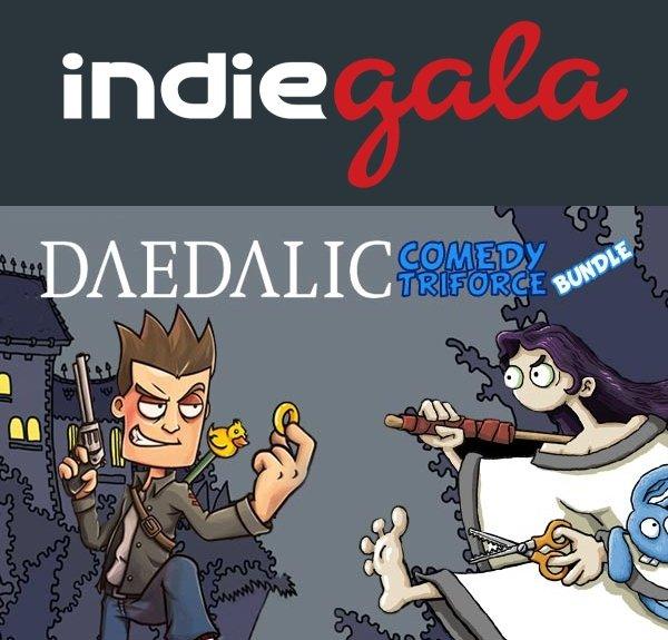 [24H / 3 x Steam] Kleines Daedalic Entertainment Bundle @ Indie Gala