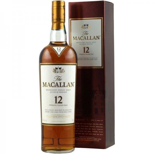 Macallan 12 Jahre Sherry Oak spirituosen-superbillig über ebay 72,70€ [Preisvorschlag] statt 89,99€