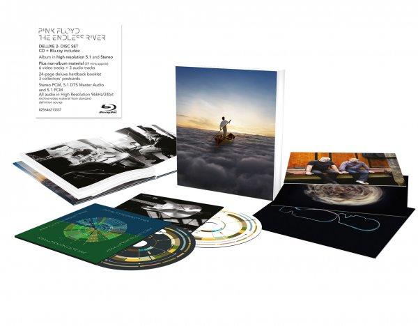 13,99€ PINK FLOYD The Endless River CD + Blu Ray @JPC.de