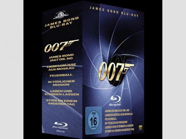 [Saturn.de] James Bond - Blu Ray Box Vol. 1+2 jetzt für 14,99€ Versandkostenfrei