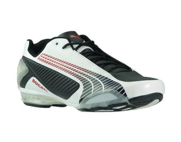 [Allyouneed] PUMA Herren-Sneaker weiß-schwarz-rot