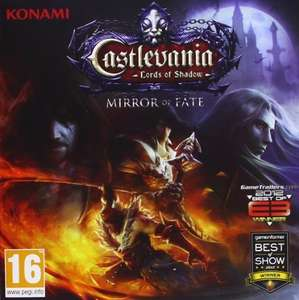 (3DS/Amazon ES) Castlevania Lords Of Shadow: Mirror Of Fate für 11,71 €