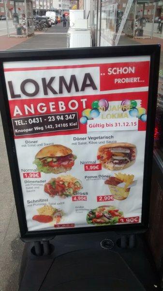 Döner in Kiel 1,99€