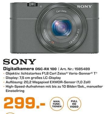 [Saturn Hamburg] Sony DSC RX 100 (M1)