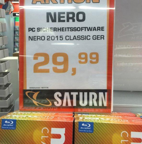 Nero 2015 Classic  für 29,99 bei Saturn in Esslingen