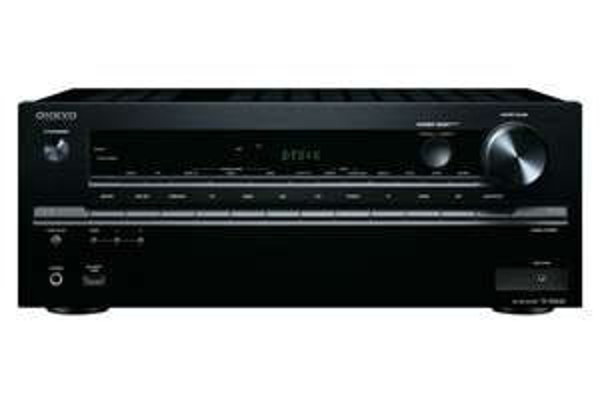 Onkyo TX-NR646 7.2-Kanal Netzwerk-AV-Receiver (DTS: X-fähig, Dolby Atmos, 160W, WiFi, Bluetooth, AirPlay,, DLNA) schwarz für 468,63 € @Amazon.es