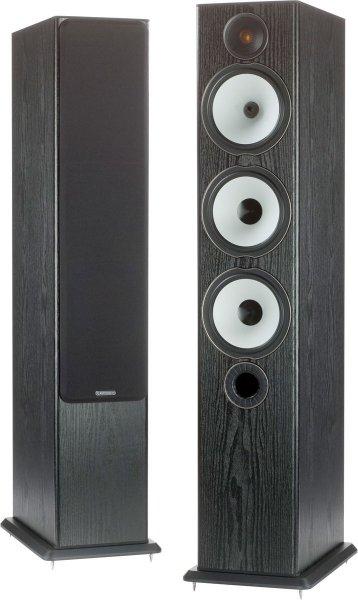 1 Paar Monitor Audio BX6  Standlautsprecher Schw / Eiche @ Soundpick Online 399.-