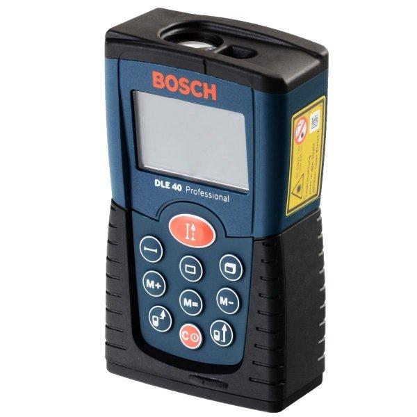 """Bosch Laser-Entfernungsmesser """"DLE40 professional"""" (Längenmessung, Flächenmessung, Volumenmessung), inkl. Versand für 57 € statt 66 €, @ZackZack"""