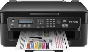 Epson WorkForce WF-2510WF Multifunktionsgerät (Scanner, Kopierer, Drucker, Fax, WiFi) für 62,96 € @Amazon.it