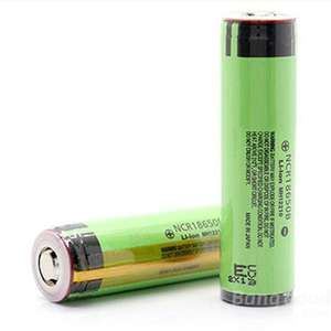 [Banggood] 2x NCR 18650B 3.7V 3400mAh Protected Lithium Battery Akku