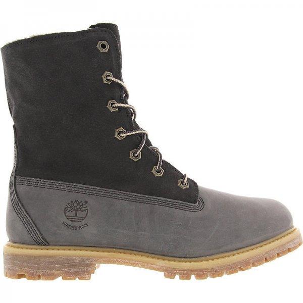 Timberland Women's Authentics Waterproof Fold-Down Boot (8313A) grey, Größe 36@sp24.com