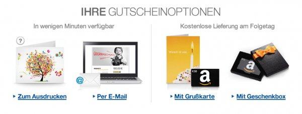 [Amazon, Neue Aktion!] Gutscheine im Wert von 40€ kaufen und 10€ Aktionsgutschein erhalten (nicht für alle Konten)