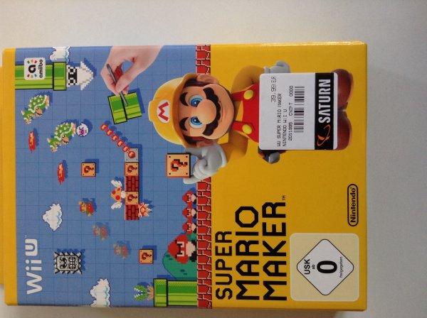 (L)Super Mario Maker WiiU bei Saturn Köln für 39,99 €
