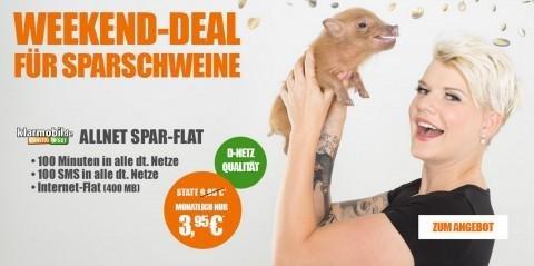 Klarmobil Allnet Starter für 3,95 € mtl.!!