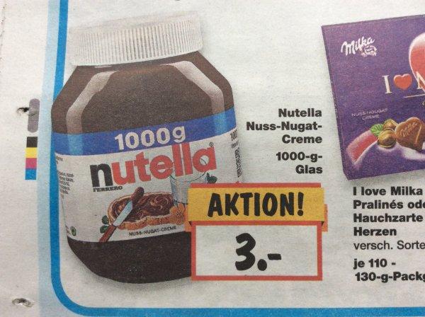 [Lokal Berlin] Kaufland Nutella 1kg Glas (Do-Sa)