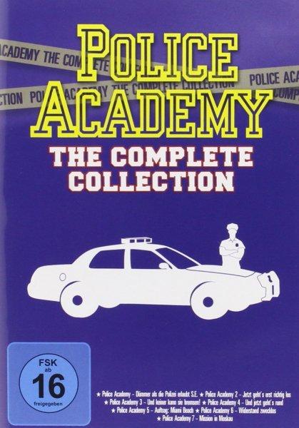 (Amazon.de-Prime) Police Academy  auf 7 DVDs für 14,99€ und Smallville exklusiv bei Amazon auf 62 DVDs für 89,99€