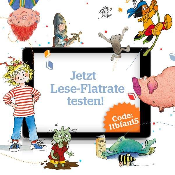 Tigerbooks: Leseflatrate für einen Monat zum Testen