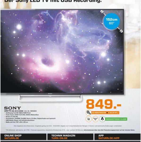 Sony TV 60W605B @Saturn Mönchengladbach (Lokal)