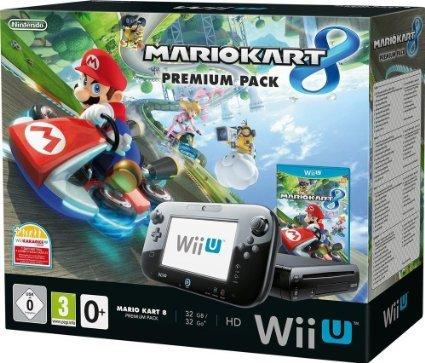 [getgoods] Nintendo Wii U Konsole Premium Pack 32 GB Schwarz inkl. Mario Kart 8 (DVD Version)