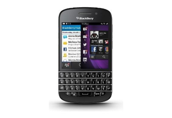 [Dealclub] Blackberry Q10 (Vorführgerät) QWERTY ohne Simlock