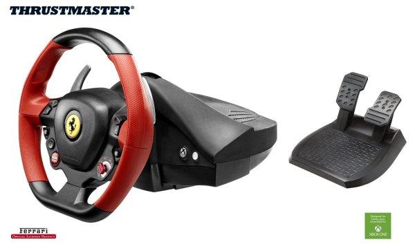 Thrustmaster Racing Wheel Ferrari 458 Spider für Xbox One für 54,69 € @Amazon.it