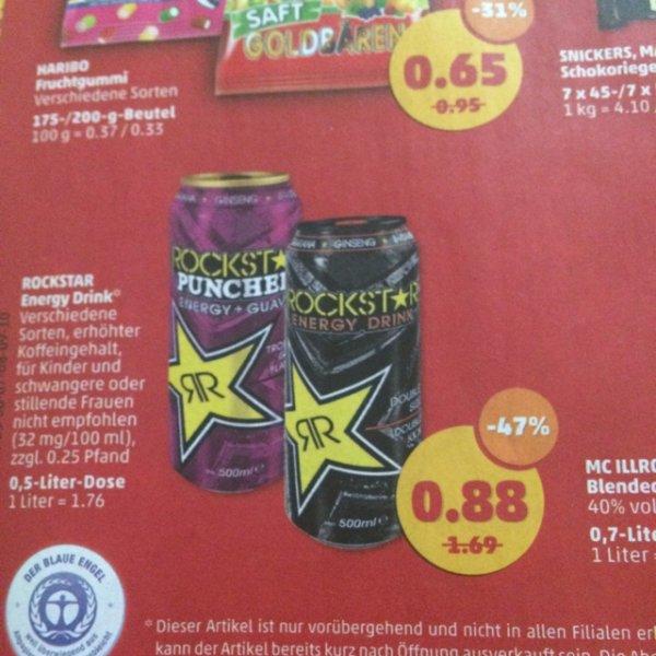 Penny [Bundesweit] Rockstar Energy Drink 0,88€ + Pfand