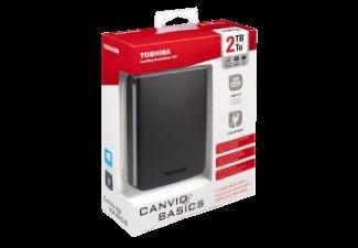 [Media Markt] Toshiba Canvio Basics 2TB, USB 3.0 für 65€ und 1TB für 45€ (1TB auch Amazon)