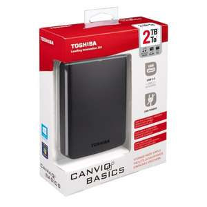 EBAY [Media Markt] Click & Collect, Toshiba Canvio Basics 2TB, USB 3.0 für 65€