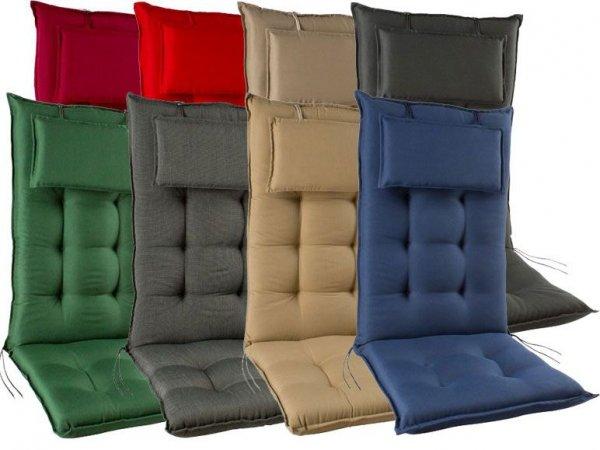 [3% Qipu] Sun Garden Hochlehner Sesselauflage in versch. Farben (9cm hoch mit Stehsaum) für 16,99€ zzgl. 4,95€ Versand @Lidl Online