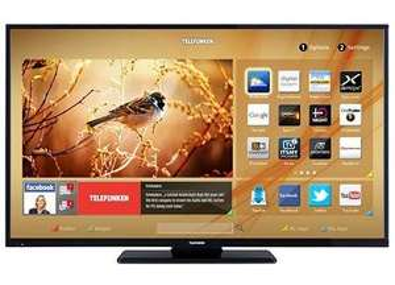 LED-Fernseher 125 cm 49 Zoll Telefunken D49F283N3C, EEK A+ DVB-T, DVB-C, DVB-S, Full HD, Smart TV, DLNA, CI+, WLAN, HbbTV, 2x HDMI, 2x USB, Dolby Digital Plus@OTTO Neukunden