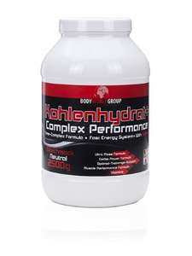 [Amazon.de-Plusprodukt] BodyWorldGroup Kohlenhydrat+ Complex Performace, Muscle Line, 2500 g, 1er Pack (1 x 2.5 kg)