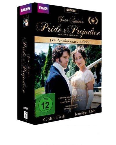 [Amazon.de] Jane Austen's Pride & Prejudice (15th Anniversary Edition) [6 DVDs] [Collector's Edition]