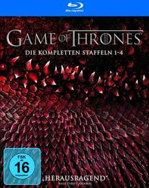 (Amazon.de)Game of Thrones Staffel 1-4 (Digipack + Bonusdisc + Fotobuch) auf Blu-ray für 74,97