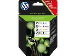 [notebooksbilliger.de] HP Druckertinte - HP 950XL/951XL Combo Pack - versandkostenfrei + 3 Ausgaben Ct