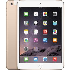 Apple iPad mini 3 128GB WiFi Gold@Misco