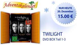 Drogerie Müller: Twilight DVD BOX Teil 1-3