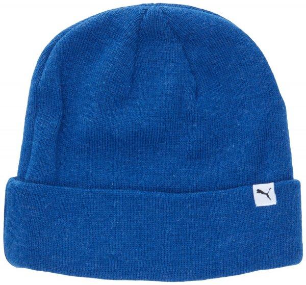 PUMA / Erwachsenen Mütze Fold Beanie / Farbe: Limoges Blue Heather / @AmazonPrime
