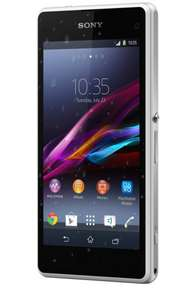 """Sony Xperia Z1 Compact weiß Smartphone 10,9cm/4,3"""" Android 4.4 Quad 20,7MP 16GB B Ware @medion Ebay"""