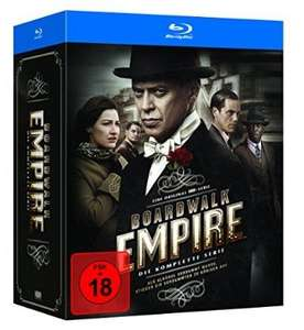 [Serie][Blu-Ray]Boardwalk Empire Komplettbox für 54,97€