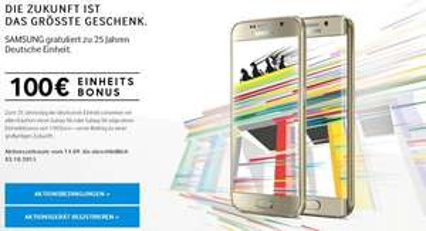 Samsung Galaxy S6 edge 32GB für 453,66€