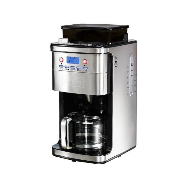 BEEM Germany Kaffeemaschine mit Mahlwerk Edelstahl für 99,95€ inkl VSK @ EBay