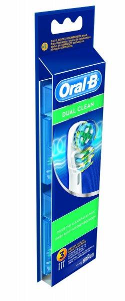 """Braun™ - 3er-Set Oral-B Aufsteckbürsten """"Dual Clean"""" ab €7,86 [@GetGoods.de]"""