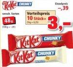 [THOMAS PHILIPPS]KW39: 10x Kitkat Chunky und Chunky White 48g für 3,00€