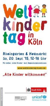 Freie ÖPNV-Fahrt für alle Kinder am Weltkindertag im VRS-Netz (19.9.) & NRW (20.9.)!