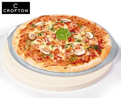 Pizzastein, Ø ca. 26 cm mit Backblech für 9,99 € bei Aldi Süd ab Samstag 19.9.2015
