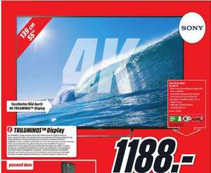Sony KD 55 X 8505C Media Markt Berlin Brandenburg