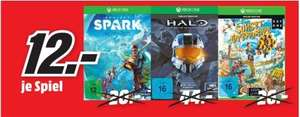 [Lokal Mediamark Gründau-Lieblos] Halo: The Master Chief Collection (Xbox One) und Sunset Overdrive (Xbox One) für je 12,-€