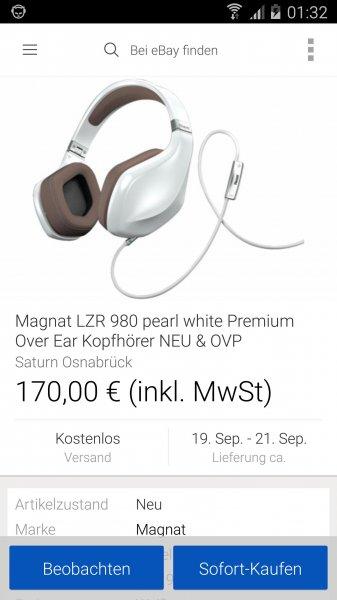 Magnat LZR 980 Ebay Saturn Osnabrück