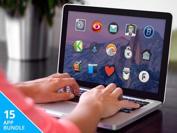 (MAC) Mega Mac Bundle mit 15 Apps für nur 26,54€ – 94% sparen!